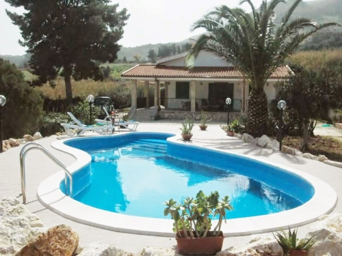 Villa / house les voiles  to rent in scopello