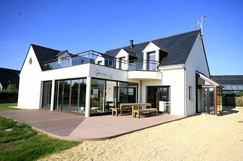 La Villa De Luxe Moderne Se Devoile : Villa luxe moelan sur mer location personnes vue