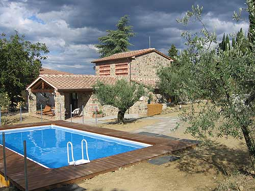 Villa / house Le rupe to rent in Pieve a Maiano