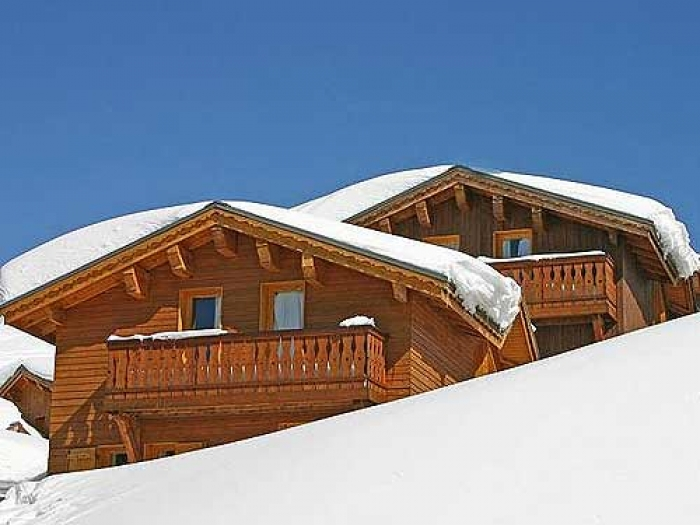 Chalet Flèche dda to rent in La Plagne