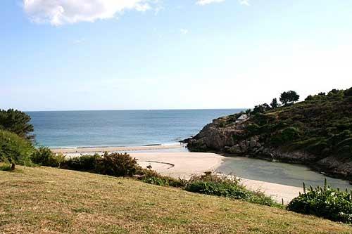 villa in Nevez, view : Sea