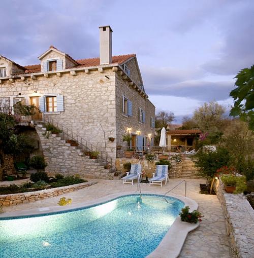 villa à Milna, vue : Mer
