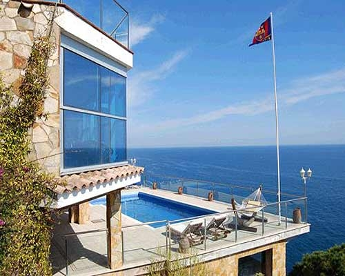 Location villa luxe lloret de mar canyelles prestige for Location piscine privee paris