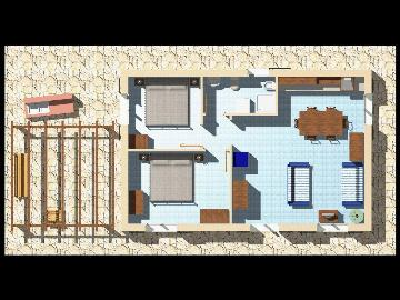 Villa / house for 4 people