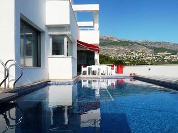 villa à Altea, vue : mer et montagne