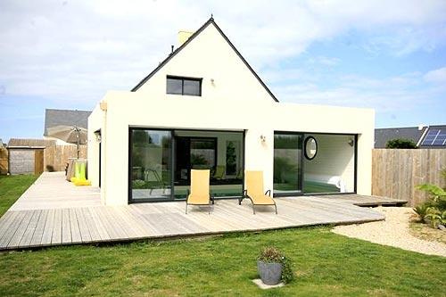 Villa / house Azur to rent in Plounéour Trez