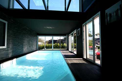 villa luxe fouesnant location 6 personnes luxe piscine chauffe piscine couverte b719 earl grey
