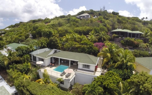 Villa / house He to rent in Gustavia