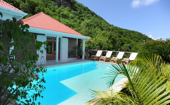 Villa / house An to rent in Gustavia