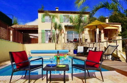 Holiday in house : french riviera - cote d'azur