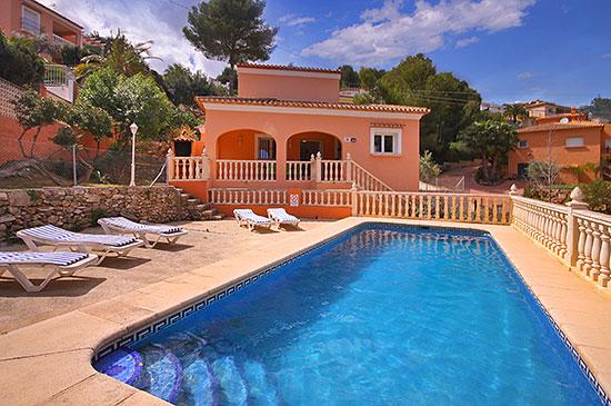 Villa / maison datil à louer à javea
