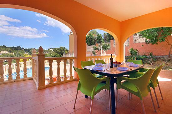 Séjour dans une maison : costa blanca