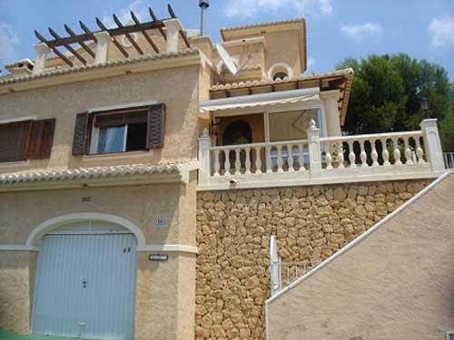 Villa / maison mitoyenne KASTEL à louer à Altea
