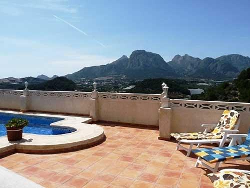 Villa / Maison Sierra maestra à louer à Callosa d'en Sarria