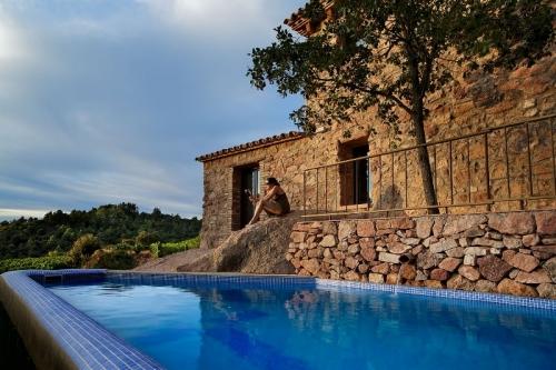 villa in Falset, view : Mountains/Hills