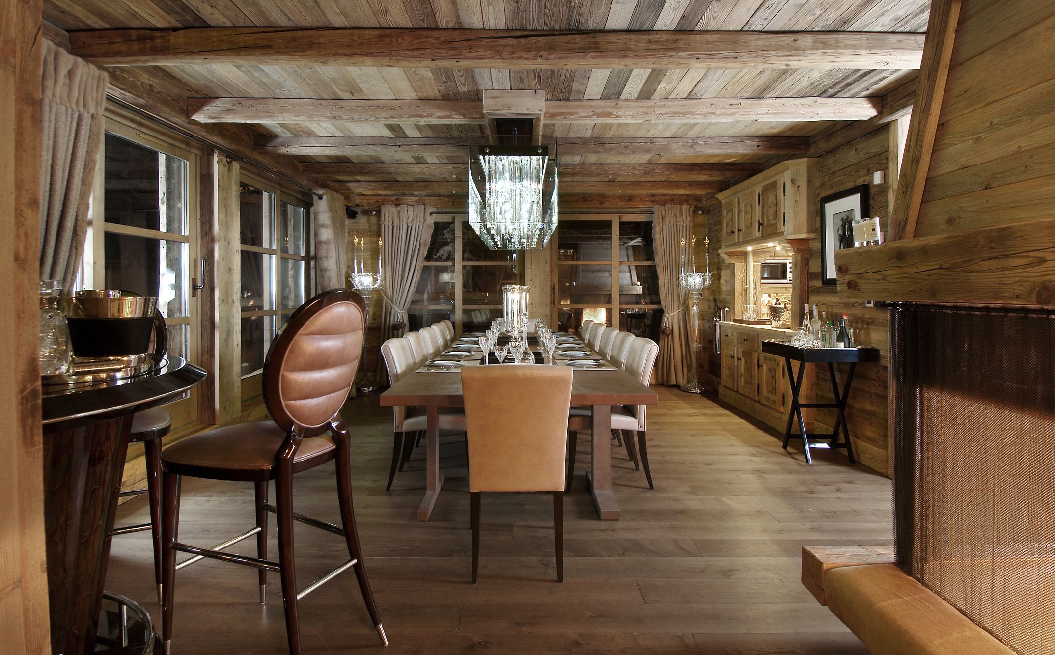 Chalet Luxe Courchevel 1850 : Location 14 personnes, luxe, vue ...