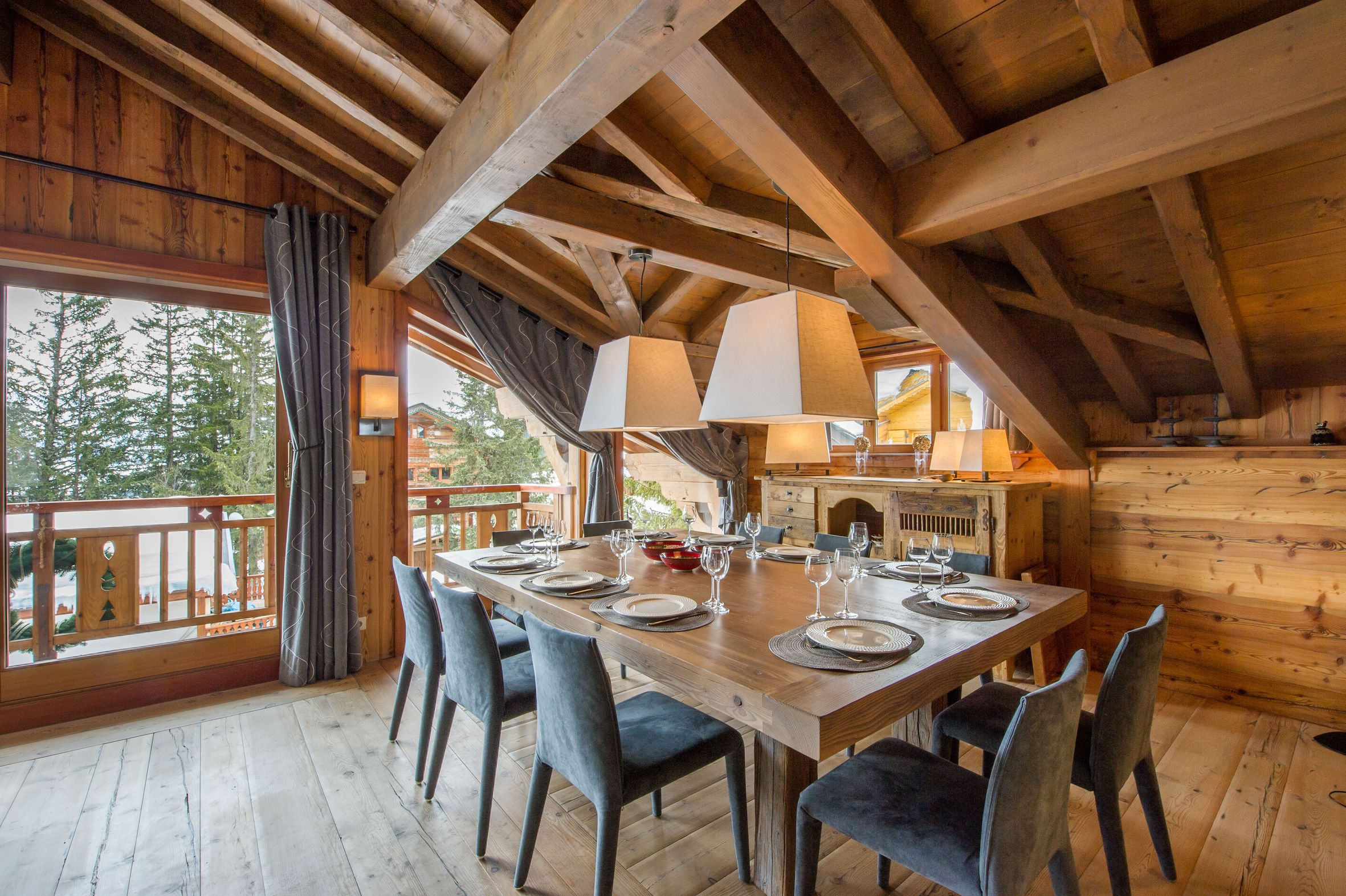 Location chalet courchevel 1850 12 personnes monic1204 - Chalet a la montagne ...