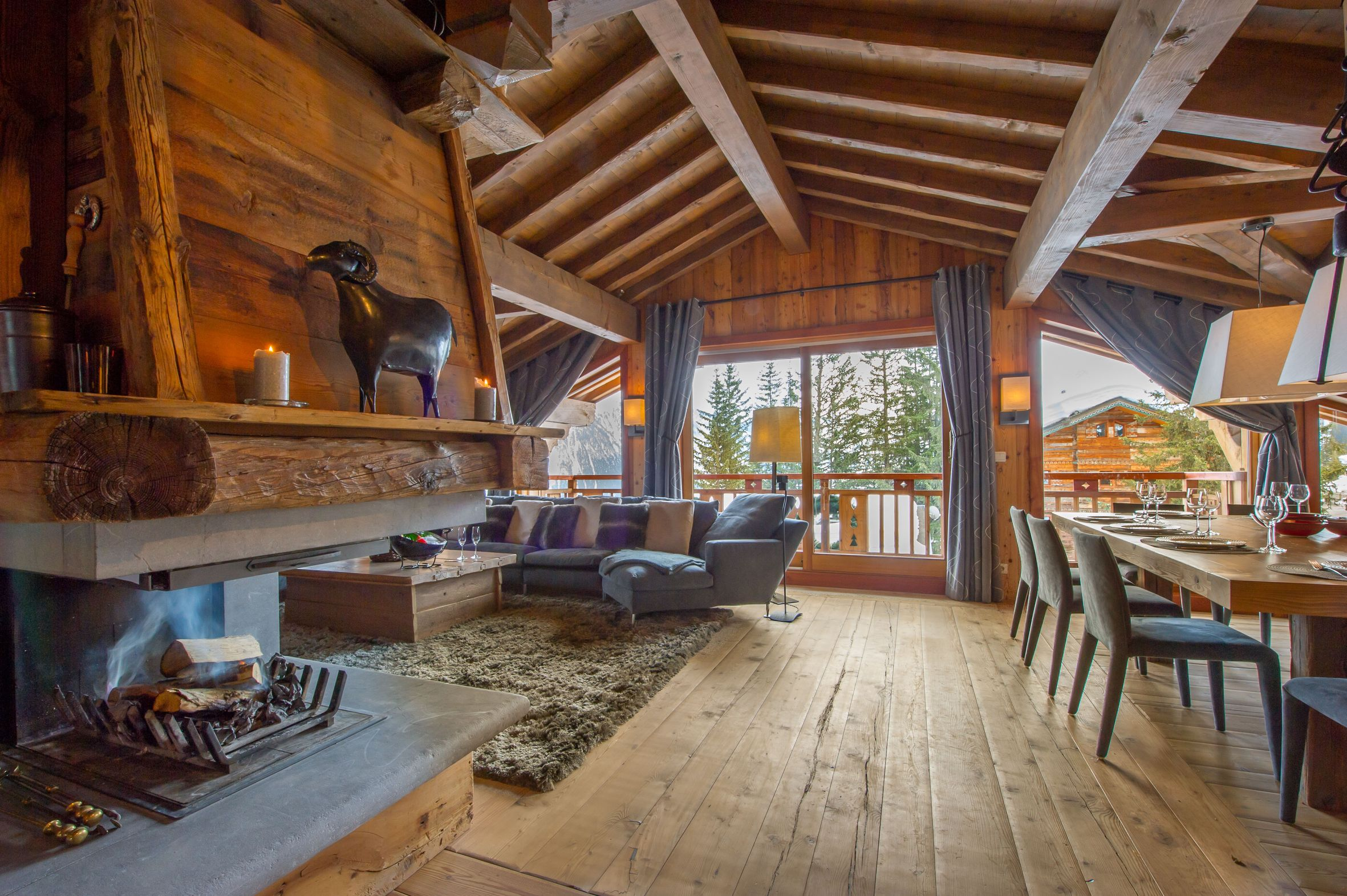 Location chalet courchevel 1850 12 personnes monic1204 for Progetti architettonici per chalet