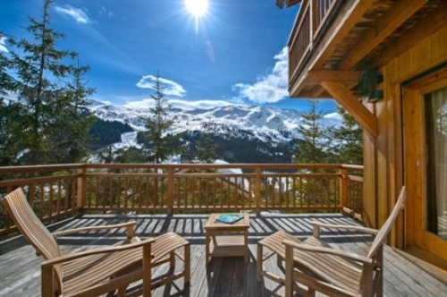 Chalet belette to rent in méribel