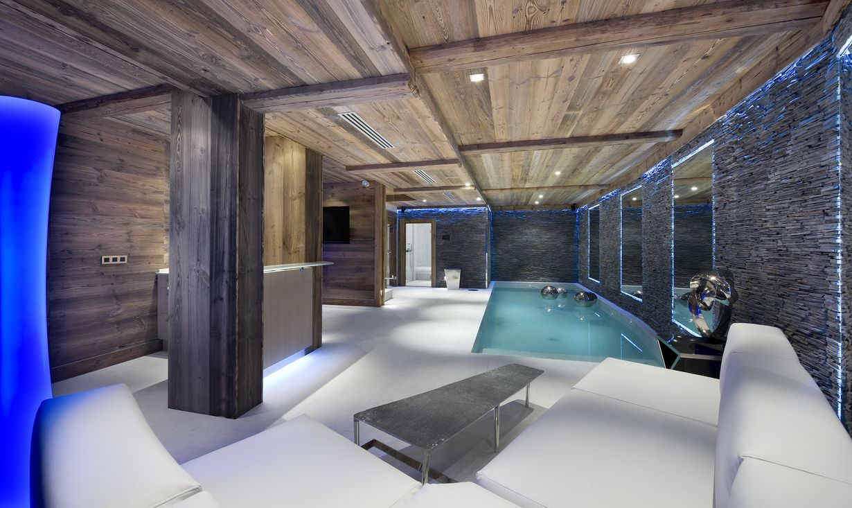 location chalet montagne luxe
