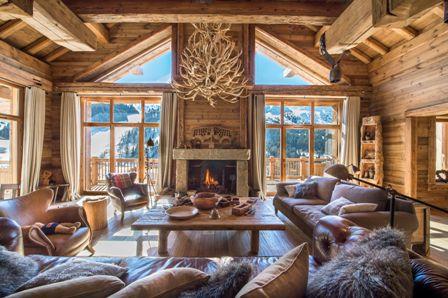 Location chalet m ribel 15 personnes moni1545 mb for Log cabin montagne blu