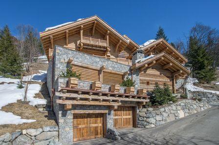 Location chalet m ribel 15 personnes moni1545 mb - Chalet de montagne luxe rkd architecte ...
