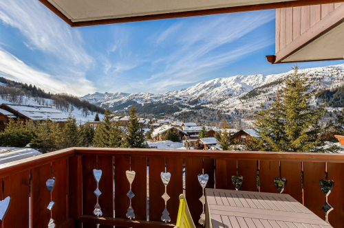France : MONI501-MR - La station de ski