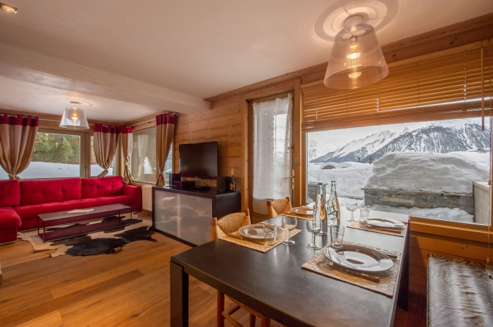 Apartment Le virage coupé to rent in Courchevel 1850