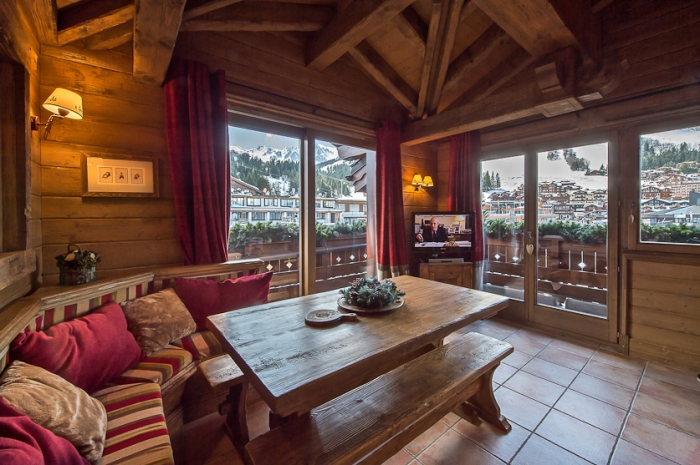Apartment France montagnes to rent in Courchevel 1850