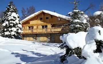 Reserve chalet gentiane des neiges