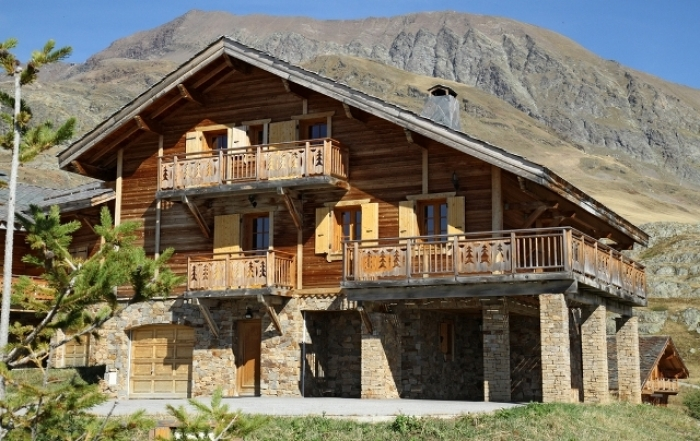 Chalet Iris to rent in Alpe d'Huez