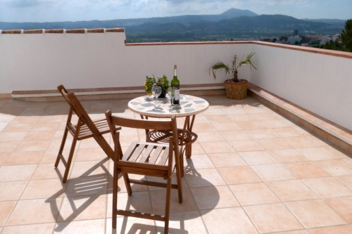 Holiday rentals view sea and mountains