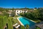 Villa in Mougins, Sicht : Garten