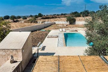 villa in Camerina, view : Countryside