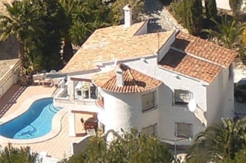 Villa / Maison Eliot alegre  à louer à Moraira