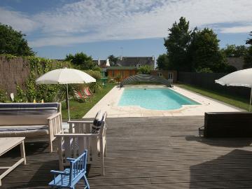 Rental villa / house saint marine
