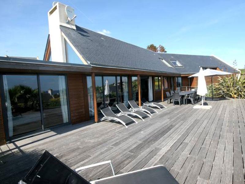 Location villa audierne 10 personnes b737 for Piscine audierne
