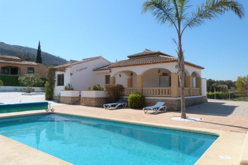 villa in Javea, view : Swimming pool