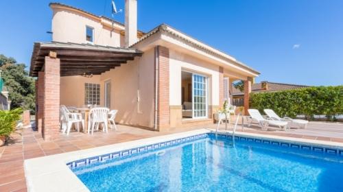 Villa / maison del pie  blanes