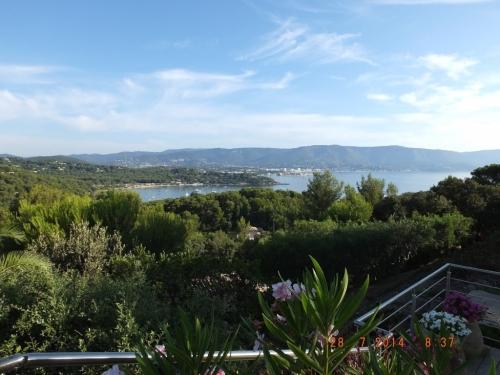 villa in Cap Benat, view : Sea