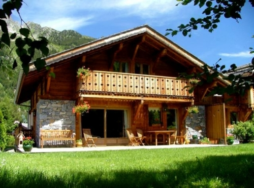 Chalet wulfenia to rent in chamonix