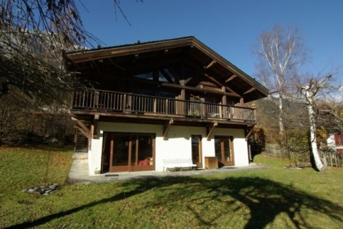 Chalet alchemilla to rent in chamonix