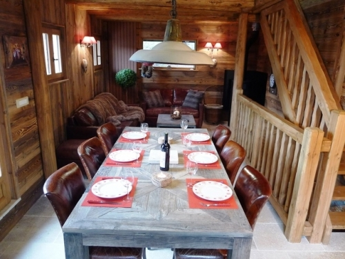 Holiday in chalet : french alps
