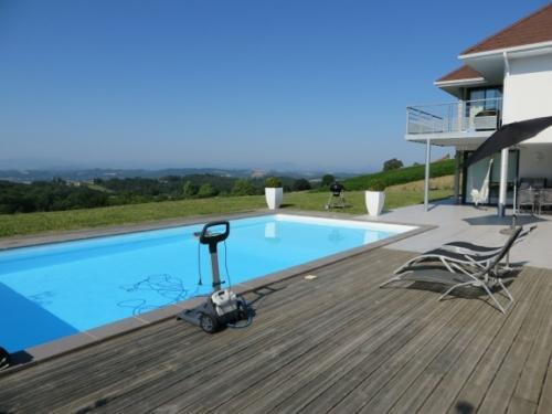 Villa in Burgaronne, View : Countryside