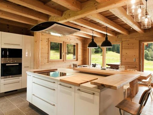 Top of the range kitchens in self catering villas