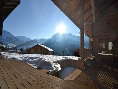Location chalet spa