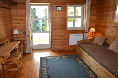 Chalet le mur to rent in flaine