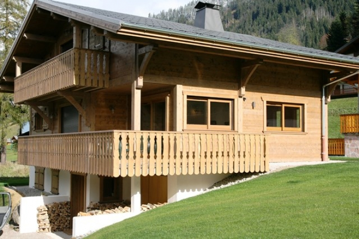 Chalet Medaille de bronze to rent in Châtel