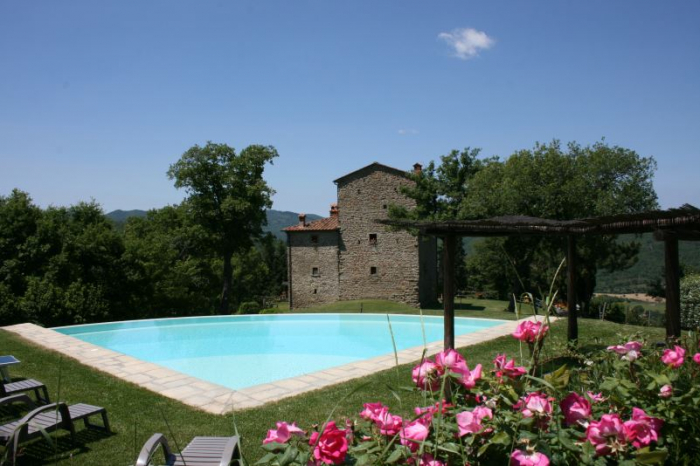 Villa / house La tour d'antan to rent in Arezzo