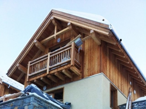 Chalets Falaise to rent in Valloire